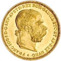 AUSTRIA GOLD 20 CORONA (1892-1918)
