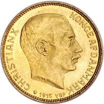 DENMARK GOLD 20 KRONOR (1873-1917)