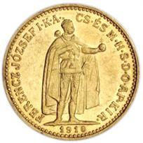 HUNGARY GOLD 10 KORONA (1892-1914)