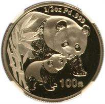 CHINA PALLADIUM 100 YUAN PANDA (2004-2005)