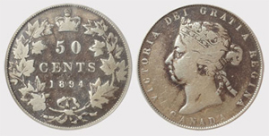 50 cents 1899 -Large 9 Victoria