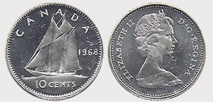 10 cents 1976