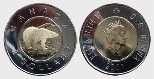 2 dollars 2009 Elizabeth II