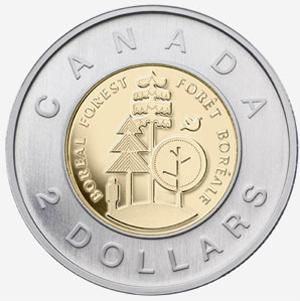 2 dollars 2011 - Parks Canada  Elizabeth II