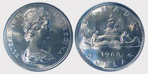 1 dollar 1984 - Jacques Cartier  Elizabeth II