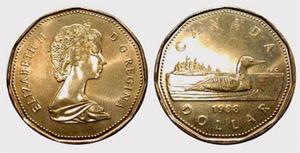 1 dollar 2002 - Family Loons  Elizabeth II