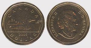 1 dollar 2005 Elizabeth II