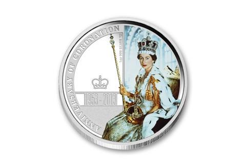 2013 Australia 1-oz Silver Coronation Proof