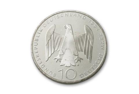 1994 Germany 10 Mark Hitler Assassination