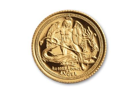 2013 Isle of Man Half Gram Gold Angel Proof
