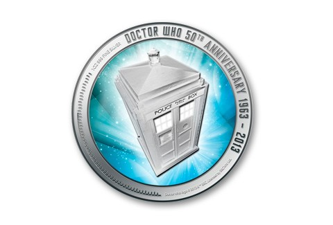 2013 Niue 1-oz Silver Doctor Who Proof