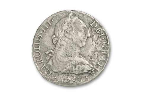1772-1832 First United States Silver Dollar Spanish 8 Reales