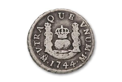 1734-1771 Spain Half Reales VG