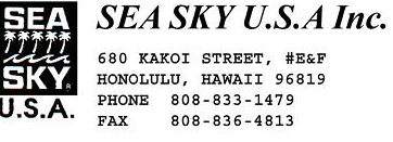 Sea Sky USA INC