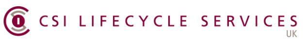 CSI Lifecycle Services UK Limited