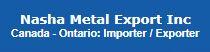 Nasha Metal Export Inc.