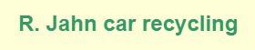 R. Jahn Car Recycling