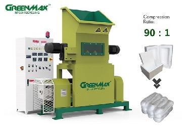 GREENMAX MARS series Styrofoam densifier