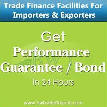 Performance Guarantee Bond for Importers & Exporters | Bronze Wing Trading L.L.C.