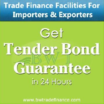 Tender Bond Guarantee for Importers & Exporters | Bronze Wing Trading L.L.C.