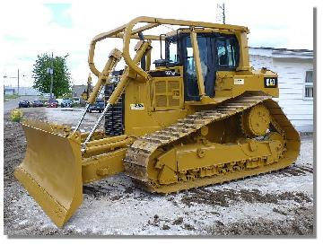 CAT D6T LGP Crawler Tractor