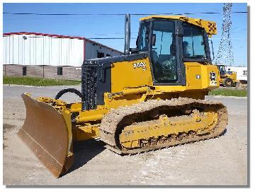 JOHN DEERE 700J XLT Crawler Tractor