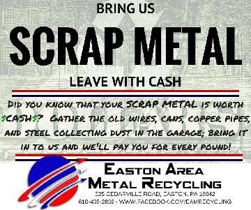 bring us your scrap and leave with CASH