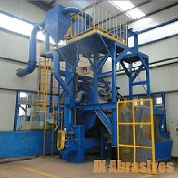 rubber-steel-belt-tumblast-machine