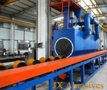 Steel Pipe Shot Blasting Machine12
