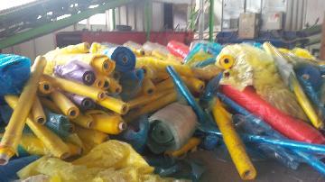 Plastic waste pe/pa