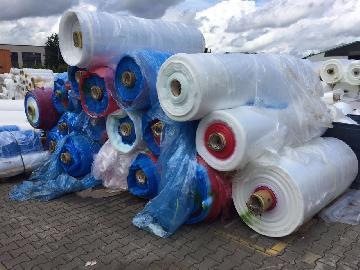 Plastic waste pe