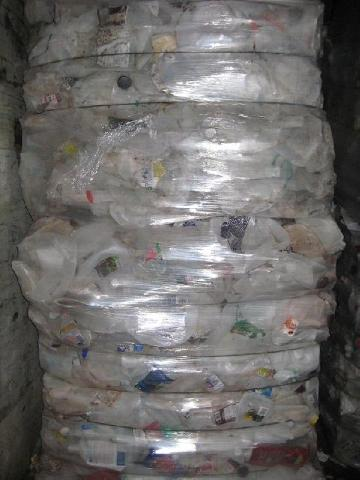 BALED HDPE DRUMS