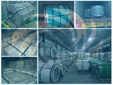 Color and Prime Stainless Steel Sheet Coil Loading