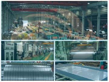 Stainless Steel Coil Sheet Service Center