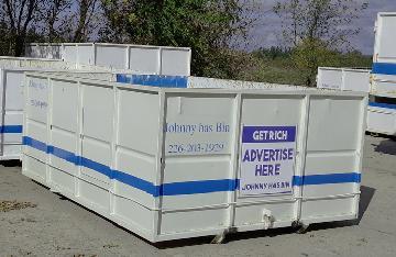 Bin rental service in Guelph