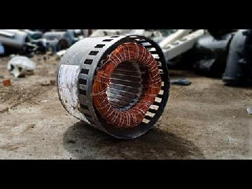 They are often collected for scrap metal recycling because they are heavy and contain a large amount of copper wire. Get the item that has the electric motor inside and begin to dissemble is with