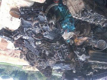 Big Cast Iron Diesel Engine