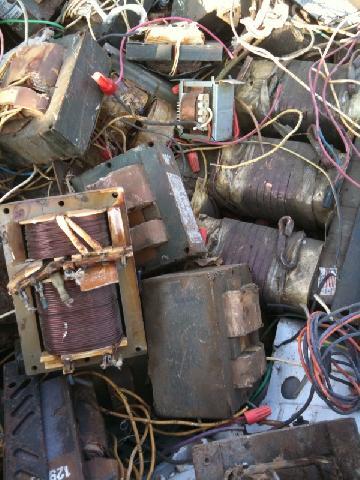 Small Copper Transformer