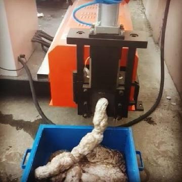 EPS foam recycling melting machine