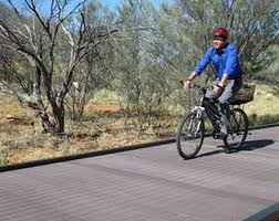 Repeat Plastic builds 10 mile bike path from discarded cartridges