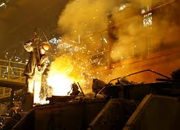 Ukraine's crude steel output down by 4.3% in April