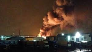 Fire breaks out at Darlaston battery recycling facility