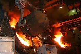 Crude steel output by South America dropped during Sep '14
