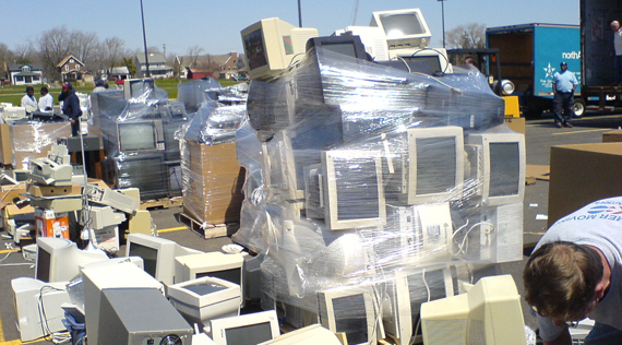 New York makes it illegal to put electronics in the trash