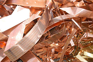 North American copper scrap prices declined on Index