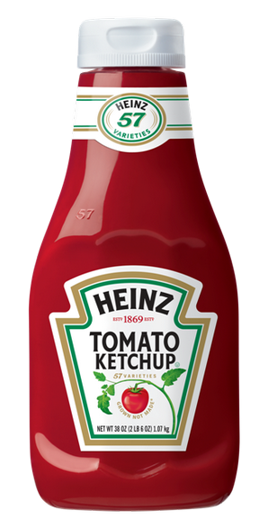 British consumers still want their squeeze bottles when it comes to ketchup