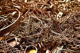 Scrap gold, silver and platinum fell heavily on Index