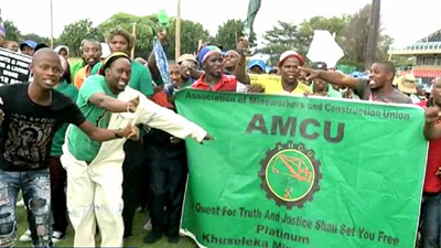 Amcu Yet to Respond to Platinum Producers' Renewed Offer