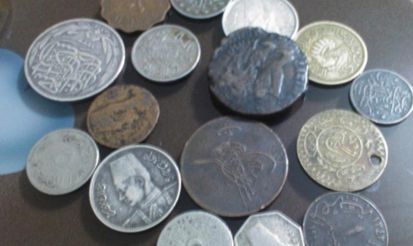Cairo Airport Customs Seize 20 Authentic Coins