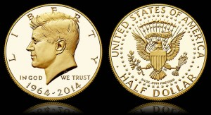 Kennedy Half-Dollar Gold Coin Sale Reaches At About 62,341